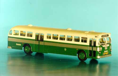 Model 1950 51 Twin Coach 52 S2p Chicago Transit Authority